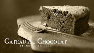 [no Music] How To Make Gateau Au Chocolat