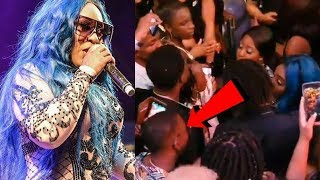 Spice Offers $LAP In The F@ce To A Fan | Chozenn Bawl Out Remix B@NNED From Gospel Station 2018