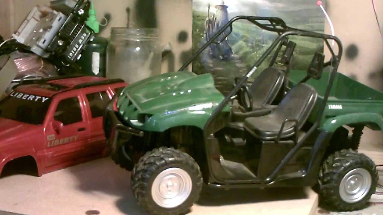 Rc Hunter Yamaha Rhino 660 Jeep Liberty Mrc Youtube
