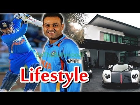 Virender Sehwag Lifestyle, House, Cars, Awards, Records,Wife, Family, Biography and Net worth