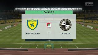 Chievo Verona vs Spezia   Serie B (08/08/2020)   Fifa 20