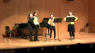 flight of the bumblebee oboe and english horn