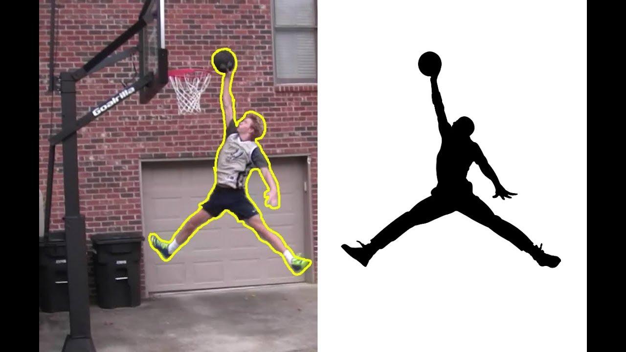 jumpman logo reverse lobs cradle dunk practice youtube