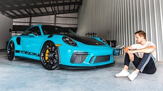 BUYING MY DREAM CAR!! - PORSCHE 911 GT3RS WEISSACH