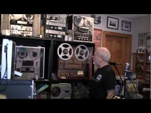 Berlant Concertone Reel To Reel Tape Recorder History & Demos By Phantom Productions, Inc.