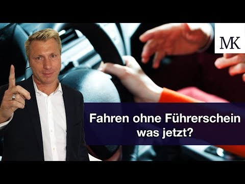 Erwischt: Fahren ohne Führerschein — was jetzt? #FragMingers