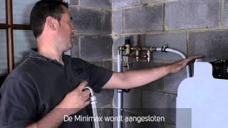 Installatie MiniMax waterontharders