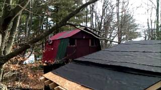 Log Cabin Goat Barn Update 12-2013