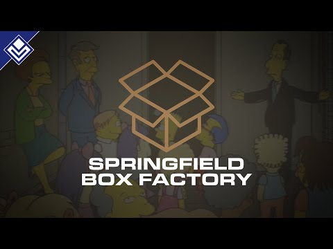 Springfield Box Factory | The Simpsons | April Fools