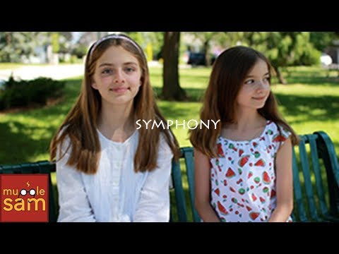 Sophia and Bella Sing Symphony by Clean Bandit ft Zara Larsson 🎵 Mugglesam