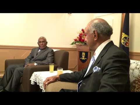 Fijian President HE Ratu Epeli Nailatikau pays courtesy call to Solomon Islands Governor General