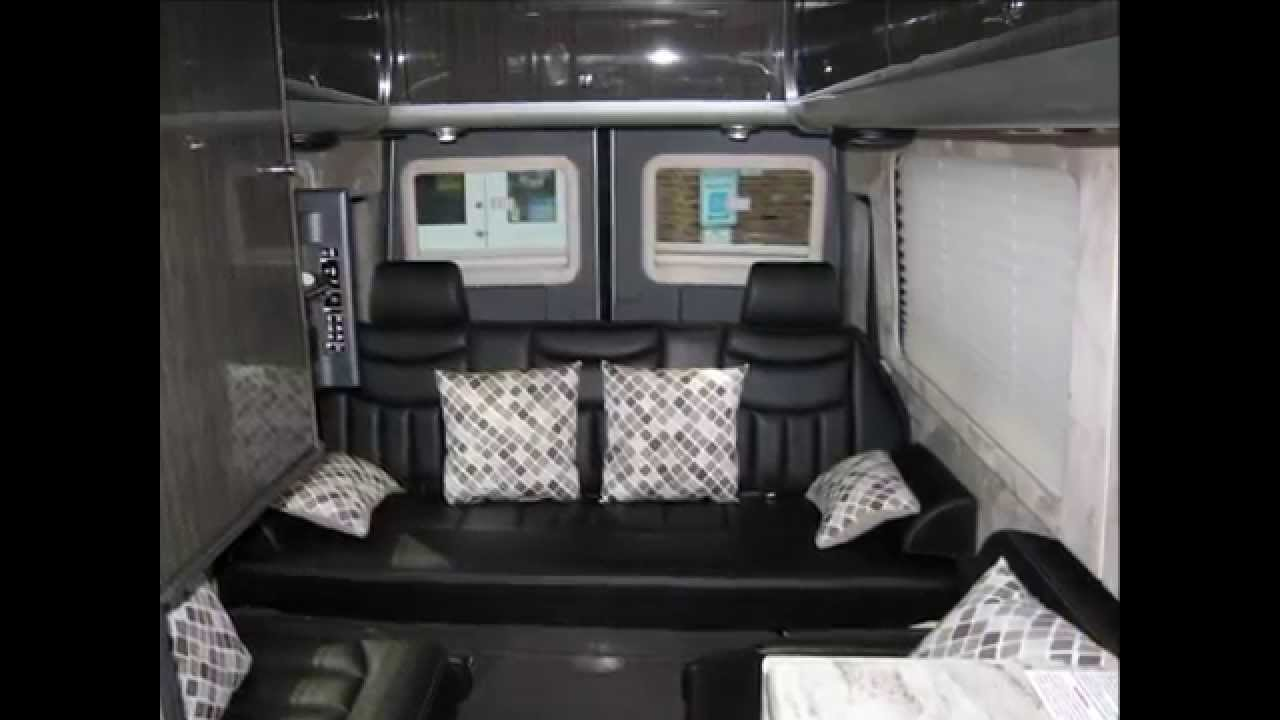 Mercedes Sprinter Van >> 2013 Airstream Interstate 3500 24' Ext Lounge Mercedes Sprinter Conversion Van RV - YouTube