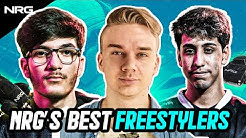 NRG JZR, SquishyMuffinz, and JSTN Finally Freestyle Together | Moi Pro Series