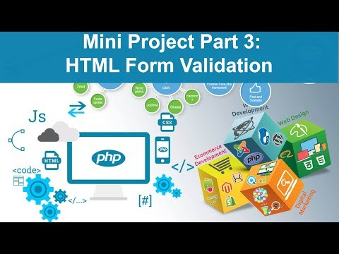 php tutorial in hindi - Mini Project Part 3 (HTML Form Validation)