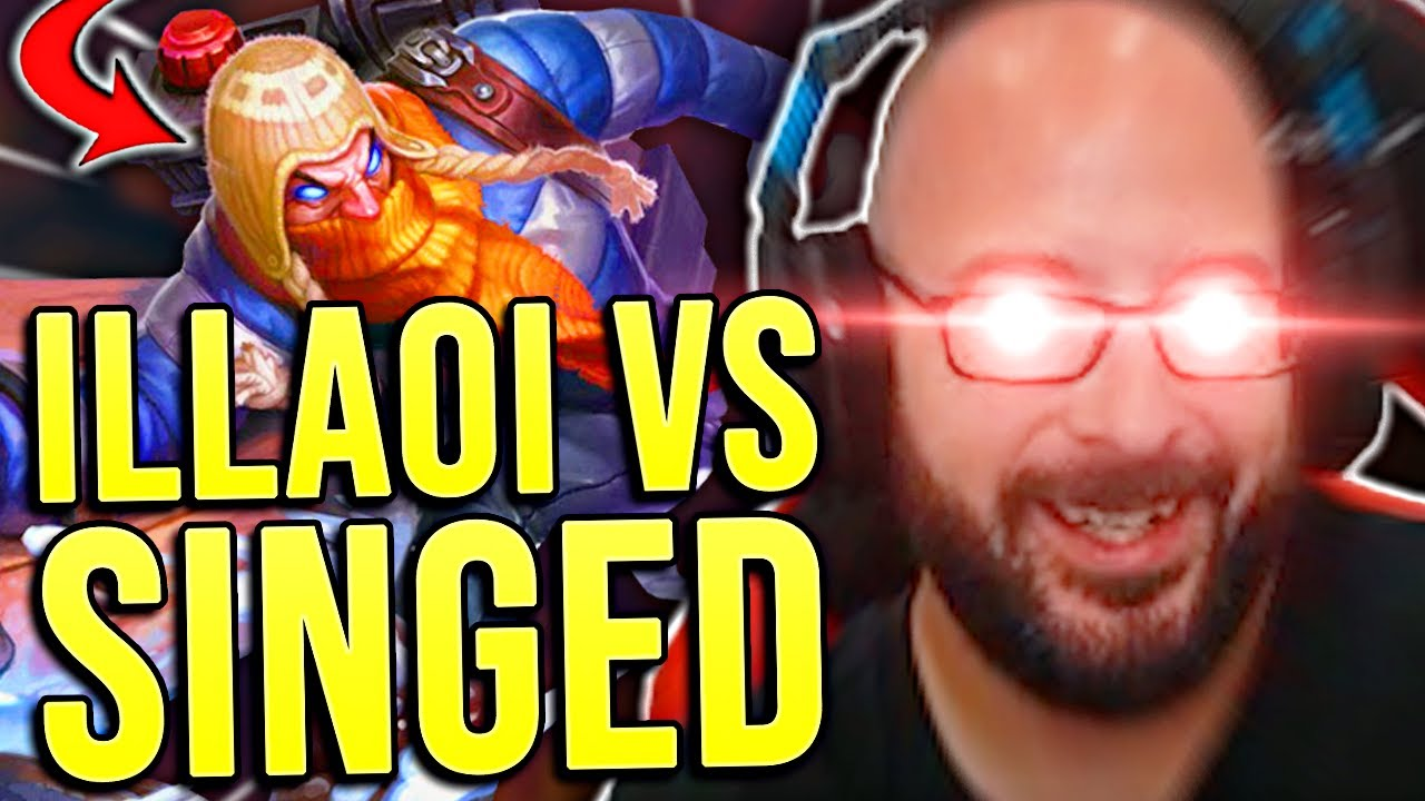 THIS POOR SINGED COULDN'T HANDLE MY ILLAOI!!! - SRO 60 Days to Masters