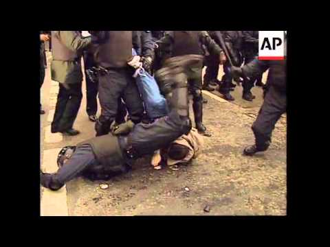 NORTHERN IRELAND: CATHOLICS CLASH WITH SECURITY FORCES