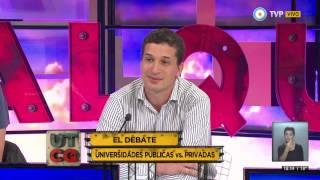 UTCQ: Debate sobre educación: universidad ¿pública o privada? (1 de 2)
