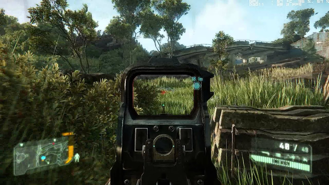 Crysis 3 PC Gameplay XFX HD7950 DD Double Dissipation ...