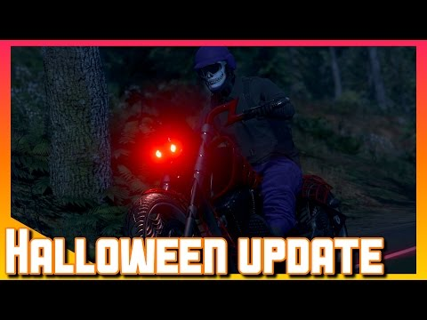 Halloween DLC | Facepaint, Mask & More | GTA V online Gameplay
