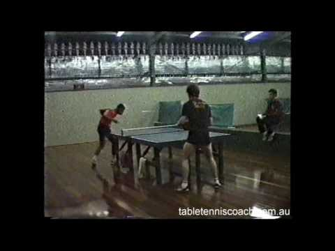 Rare Table Tennis Footage 1986 - 1995