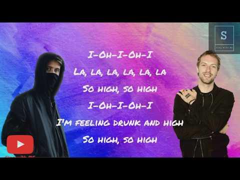 Alan Walker Vs Coldplay Hymn For The Weekend Lyric Video