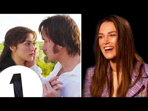 """I was so obsessed!"" Keira Knightley on loving Pride & Prejudice and partying through Atonement"