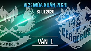 GAM vs CES [VCS Spring 2020][31.01.2020][Group Stage][Game 1]