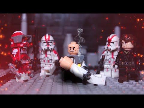 """Смерть Файвса """"Войны клонов"""" LEGO (Fives' Death) Звездные Войны Лего анимация"""