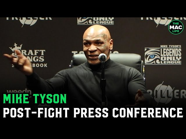 Mike Tyson reacts to Roy Jones Jr. fight: