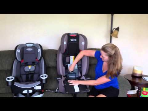Compare Graco's 4Ever and Milestone Car Seats