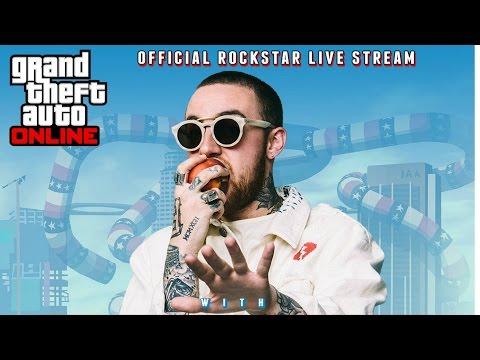 GTA 5 Online - MAC MILLER PLAYS GTA 5! (GTA V Online)