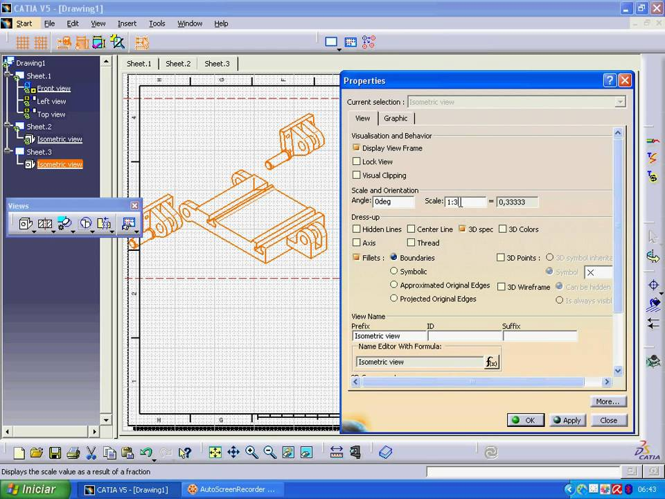CATIA-Drafting - YouTube