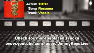 TOTO - Rosanna Isolated vocal track