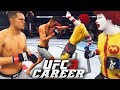 Ronald McDonald Has A BLOODY Fight With NATE Diaz - EA Sports UFC 3 Career Mode Gameplay