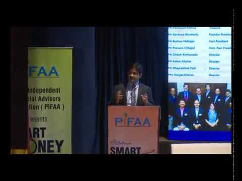 Lecture about smart investment by Mr  Ashish Pimple at Smart Money Seminar organised by PIFAA, Pune