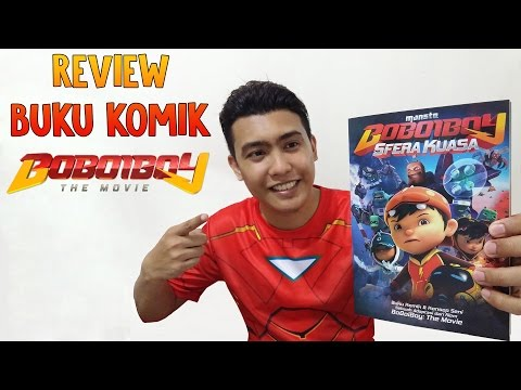 Review Buku Komik Boboiboy: The Movie ( Boboiboy: The Movie Comic Review )