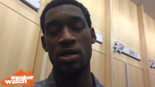 Perry Jones Encourages Players to Stand Up for What They Believe
