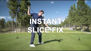 How to Fix Your Slice with Nick Faldo