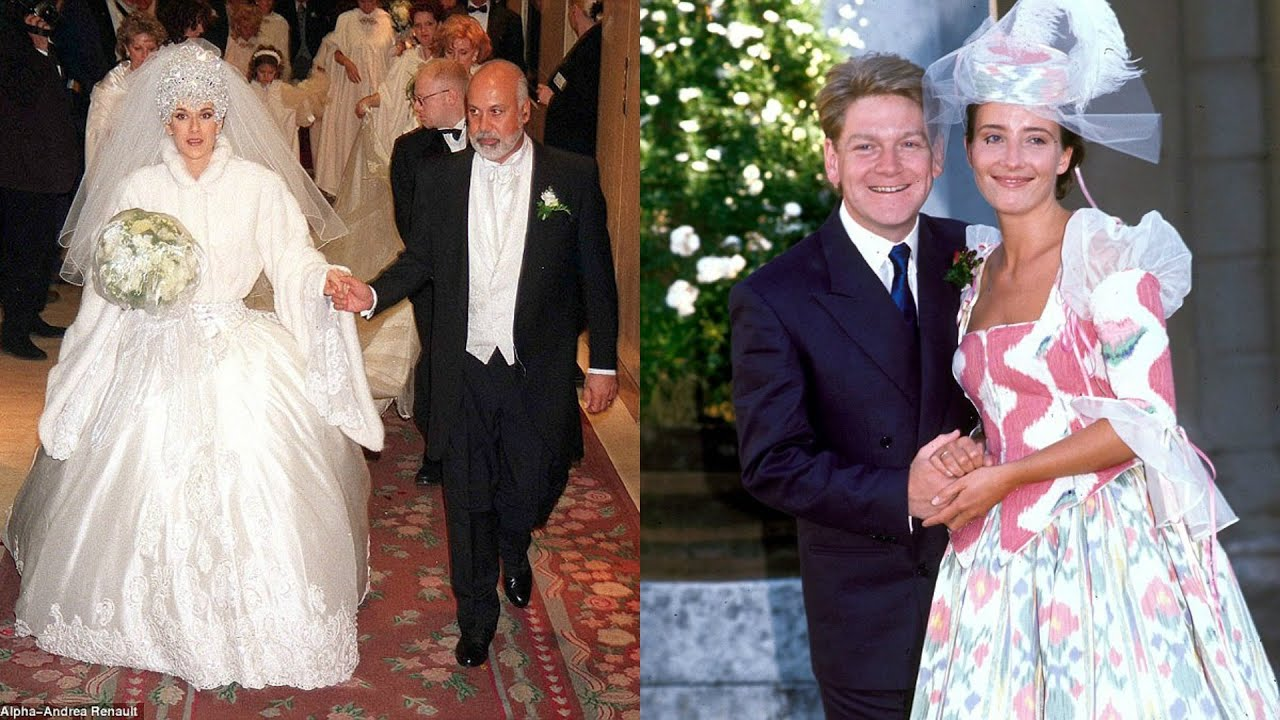 The Top 13 Tackiest Celebrity Wedding Dresses Of All Time - YouTube