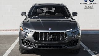 Comparison: 2017 Maserati Levante - BASE vs. SPORT