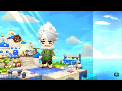 Maplestory 2 MMORPG - Creating Character And Opening!