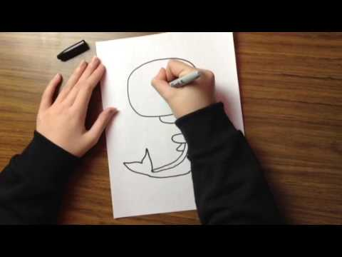 How to draw Mr.Whales!!!!