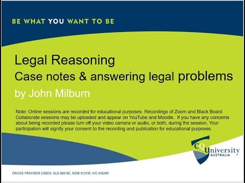 Legal Reasoning and Legal Writing Review