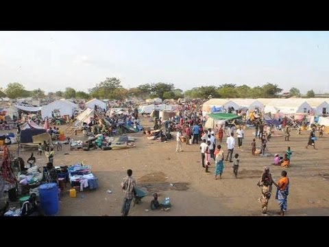 South Sudan civilians seek refuge in UN compound