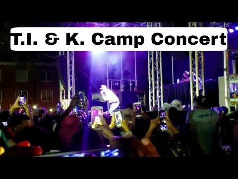 T.I. & K. Camp: University of Memphis HOMECOMING Concert 2016!