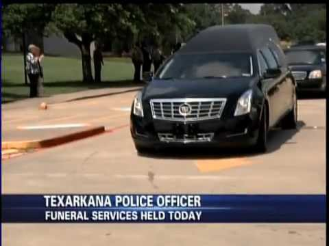 Brandon Hines Reports: Texarkana Texas Police honor fallen officer