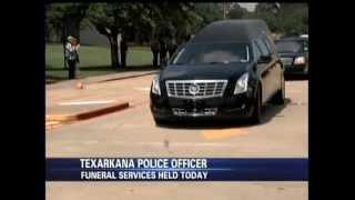 Brandon Hines Reports: Texarkana Texas Police honor fallen officer
