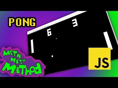 Pong In JavaScript (using ES6)
