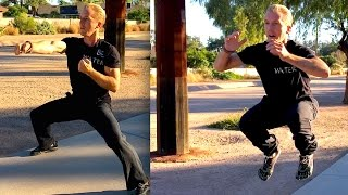Martial Arts Fitness Training - 30 Min Workout(Workout Starts at 03:07 Martial Arts Fitness Training - 30 Min Workout. Time to workout at home and get in the best shape of your life for 2015 with Jake Mace!, 2014-12-28T23:23:12.000Z)