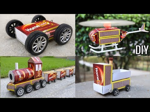 4 Amazing DIY Toys From Matchbox | Awesome DIY Ideas